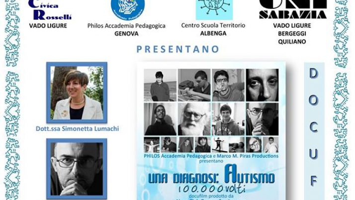 "Docufilm ""Una Diagnosi: Autismo, 100.000 volti"" Vado Ligure"